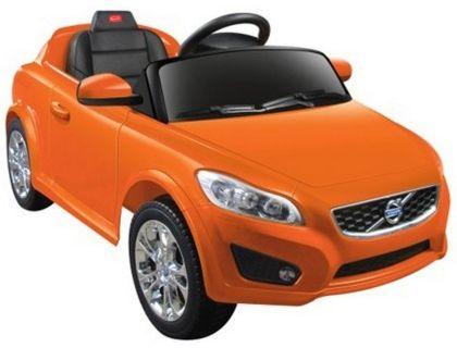 Электромобиль Volvo C30 Rastar (цвет оранжевый)